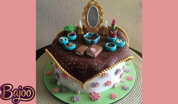 عکس کیک عید نوروز ۱۴۰۰