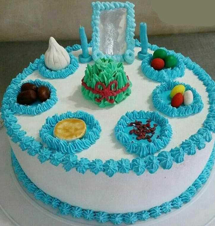 کیک عیدنوروز ۱۴۰۰
