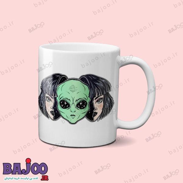 ماگ alien girl